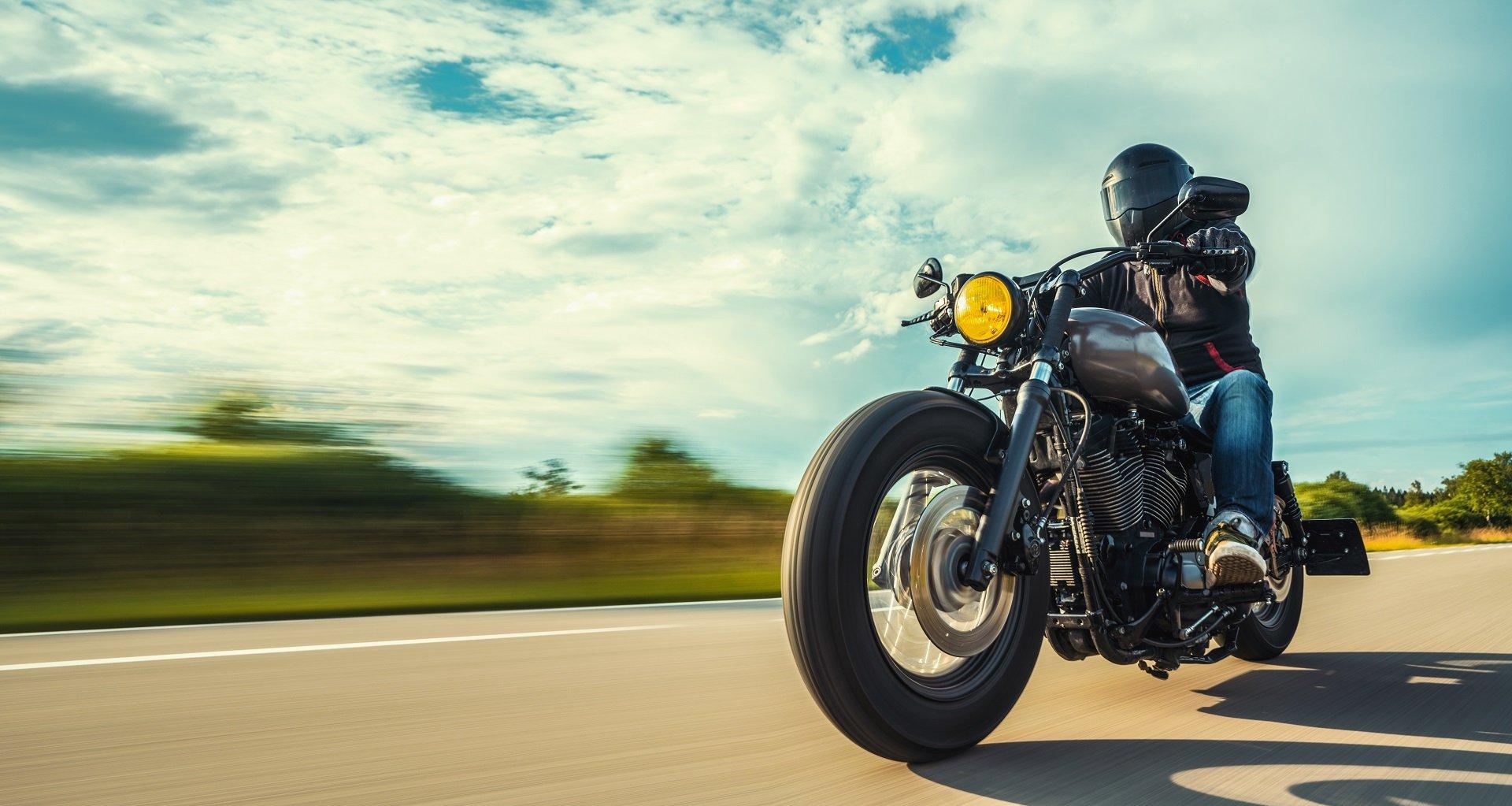 Motorrad fahren nach langer Pause